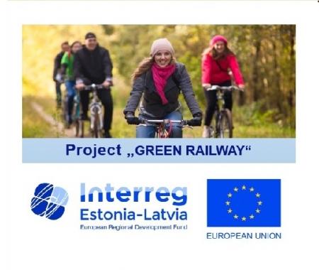 """Projekts """"Green Railway"""" (Zaļais dzelzceļš)"""